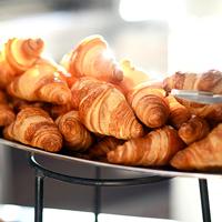 Schokocroissant zum Frühstück