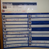 Das Klassenbuch gestohlen