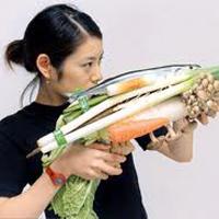 Die militante Vegetarierin