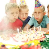 Geburtstagsparty im Kindergarten