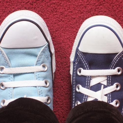 Der eingeklemmte Schuh