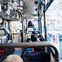 Höhepunkt im Bus