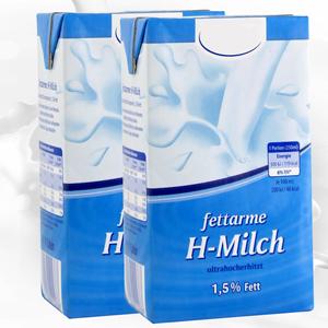 H-Milch neben der Kaffeemaschine