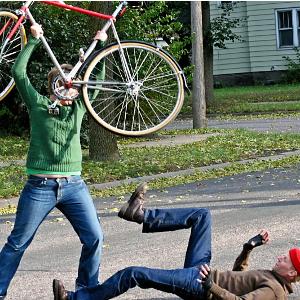 Machtkämpfe im Fahrradkeller