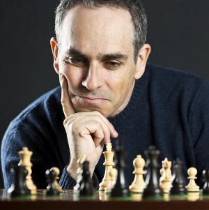 Schach bei der Arbeit