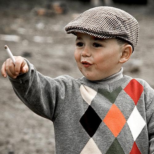 Zigaretten-Überraschung für Schulkinder