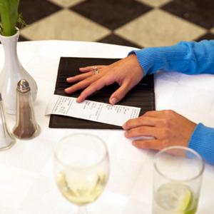 Ohne zu bezahlen Restaurant verlassen