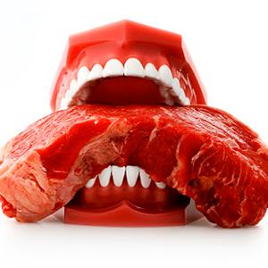 Beziehung zwischen Veganer und Fleischesser